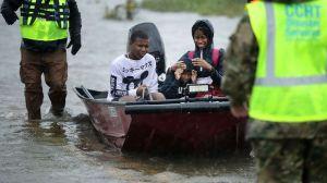 Huracán Florence en imágenes: duro impacto de la tormenta en la costa este de EEUU