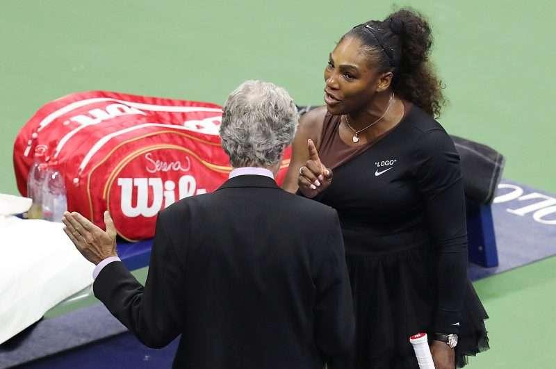 Jueces consideran aplicar un boicot a Serena Williams