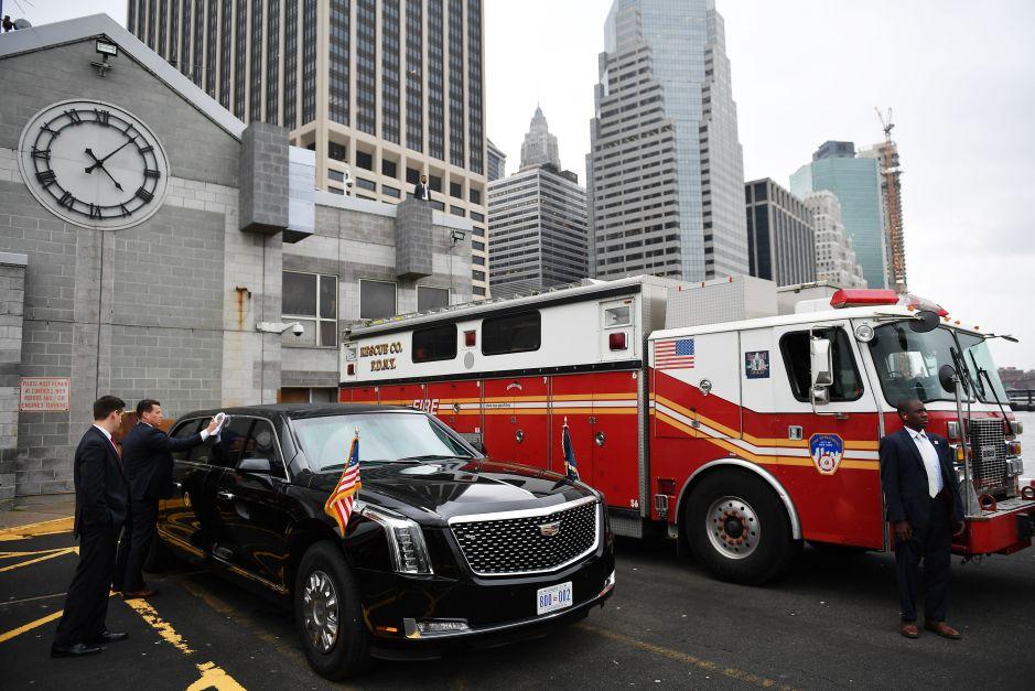 Locura de tráfico en NYC por presencia de Trump en la ONU