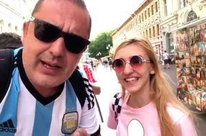 Vetan del fútbol a cuatro argentinos que realizaron videos sexistas en el Mundial