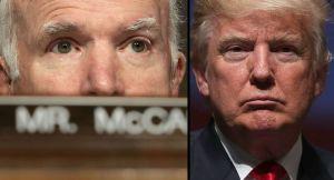 Desde la tumba McCain le manda un claro mensaje a Trump