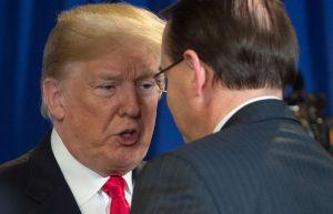 Trump alimenta drama sobre futuro del subfiscal general, Rod Rosenstein