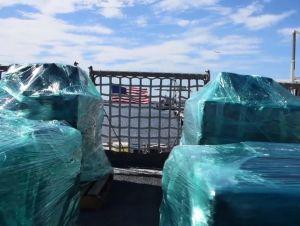 Guardia Costera propina duro golpe al narcotráfico al incautar 6 toneladas de cocaína
