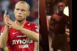 Se le armó a futbolista ruso: Su esposa lo encontró con otra mujer en un sauna