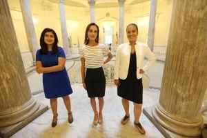 Cruz, Ramos y Salazar se preparan para su primer año oficial en la Legislatura