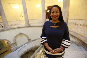 Amanda Séptimo una joven dominicana que busca llegar a la Asamblea