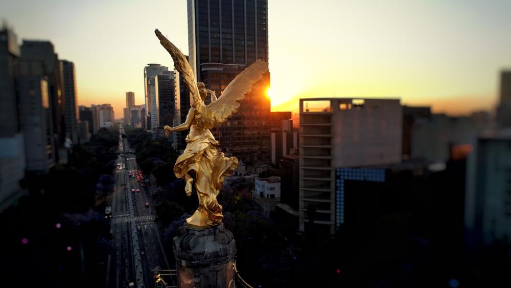 La Columna de la Independencia es un monumento emblemático de la CDMX.
