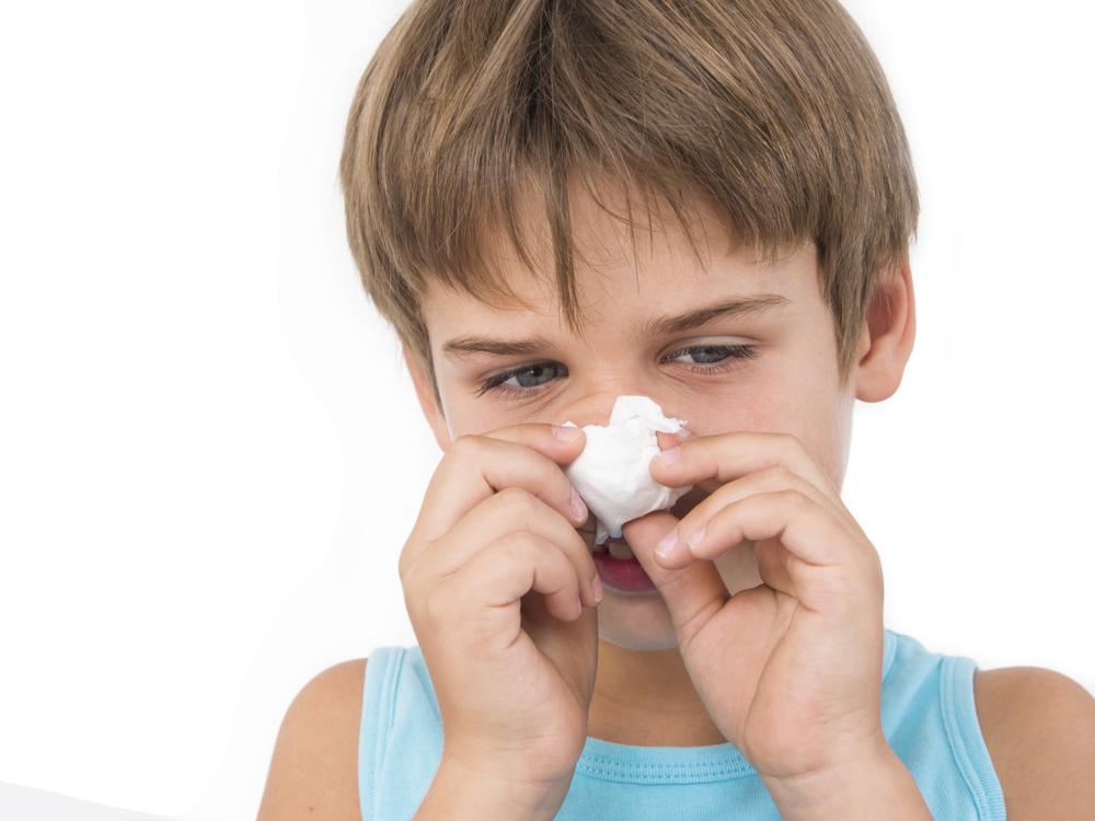 Los niños son muy vulnerables a la influenza.