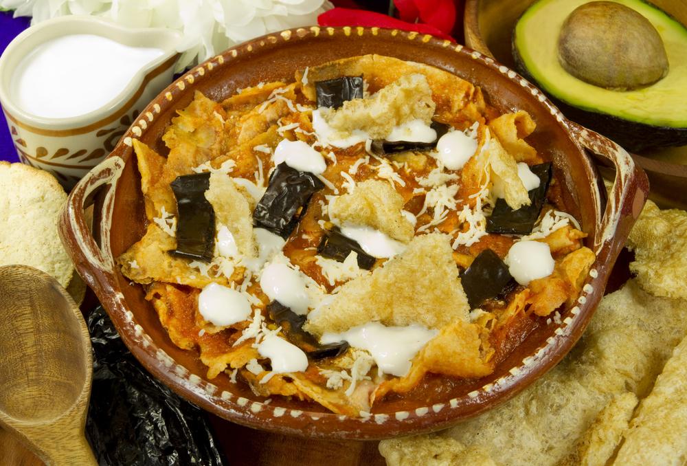 La sopa azteca es un clásico de la comida mexicana.