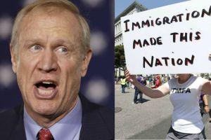"""Acusaciones """"racistas"""" contra inmigrantes por parte del gobernador de Illinois causan indignación"""
