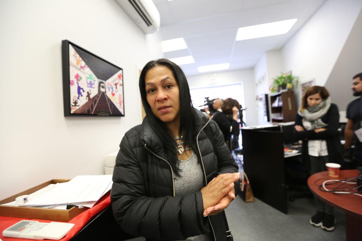 Leandra Feliz protagonizó un fuerte altercado el pasado martes en la corte