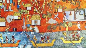 El extraordinario color azul que inventaron los mayas en México precolonial