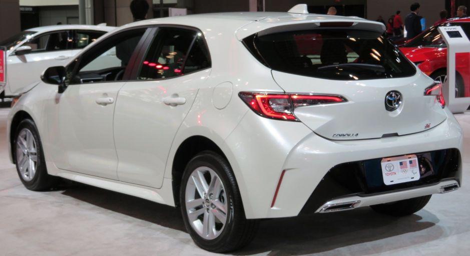 Descubre lo mejor del Toyota Corolla Hatchback 2019