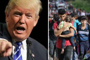 """Trump quiere """"veto migratorio"""" para centroamericanos en Caravana Migrante"""