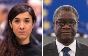 Cruzada de respeto a las mujeres es reivindicada con doble Premio Nobel de la Paz 2018