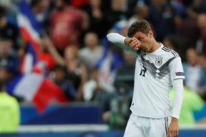 Francia tunde a Alemania en la Liga de Naciones y agrava su crisis