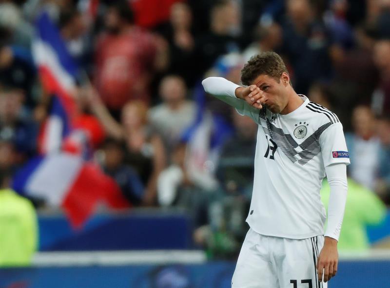 Alemania perdió ante Francia y está al borde del descenso en la Liga de Naciones