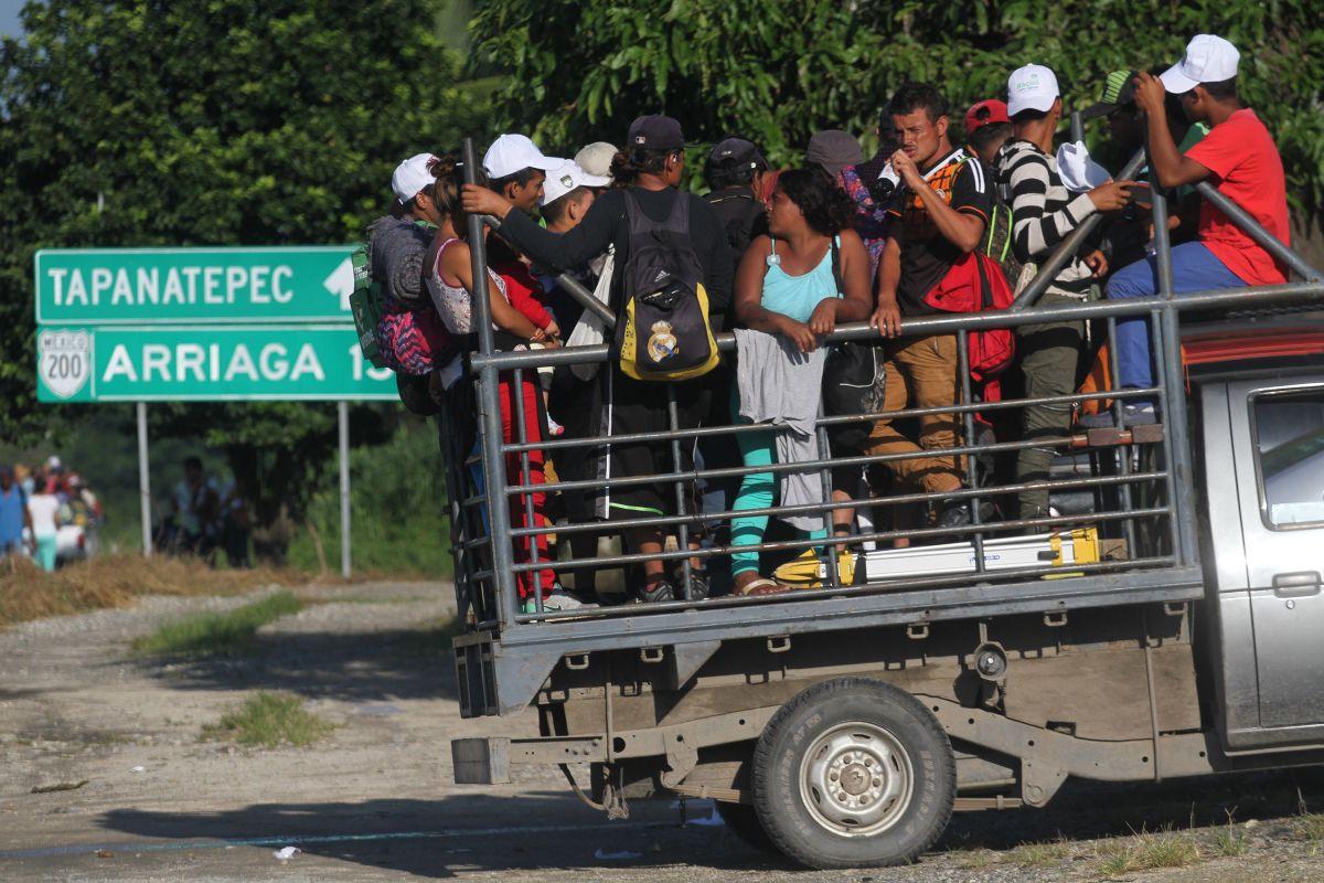 Hallan en Guatemala a originarios de África y Haití en caravana migrante