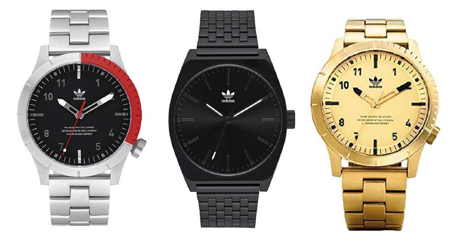 4 relojes Adidas por menos de $200 que todo hombre querrá tener