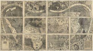 12 de octubre: 4 curiosidades del mapa en el que aparece el nombre América por primera vez