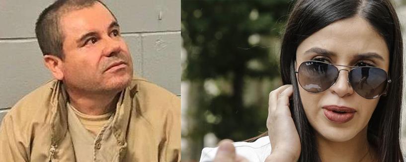 """Emma Coronel no deja de elogiar a """"El Chapo"""""""