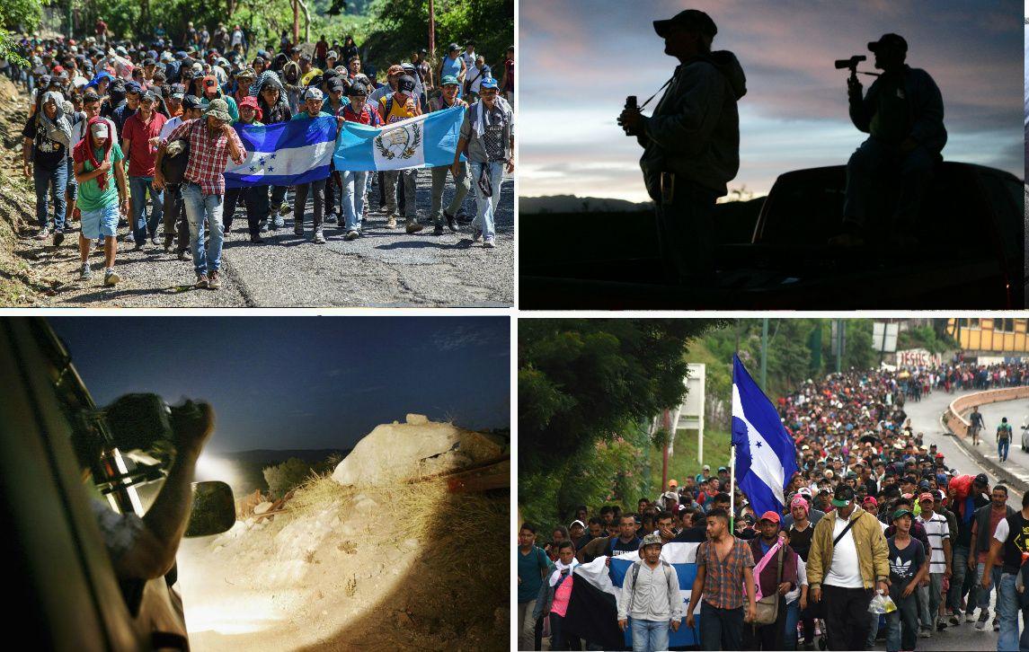 """Patrulla Fronteriza alerta sobre """"milicias armadas"""" ante llegada de la Caravana Migrante"""