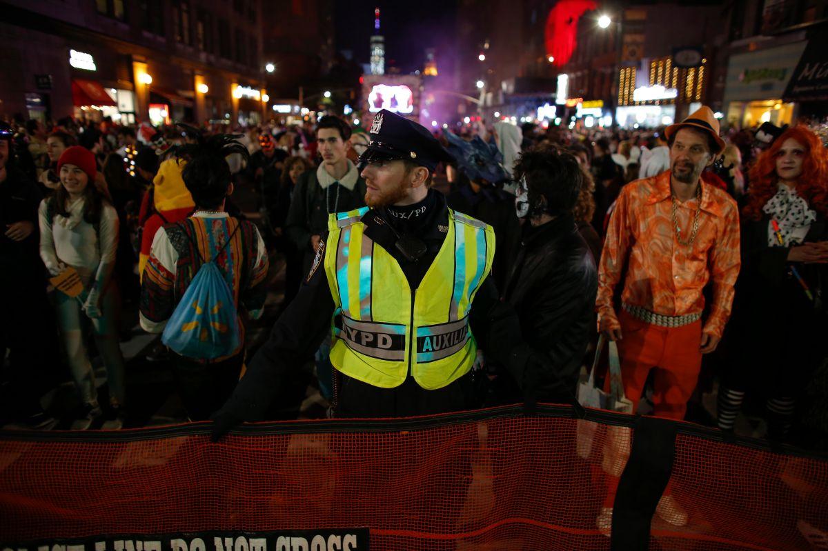 Desfile de Halloween en NYC bajo máxima vigilancia del NYPD