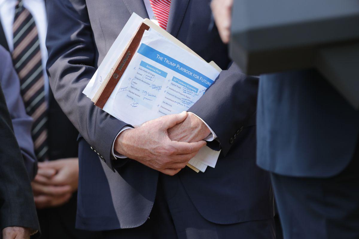 Robert Lighthizer, representante de EEUU en el tratado, sostiene lista de prioridades de la Administración Trump.