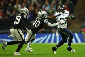 Wembley le sienta mal a los Raiders de Oakland que siguen cavando