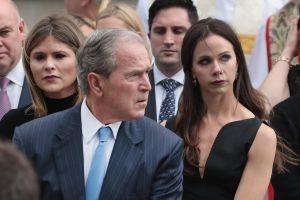 "George W. Bush comparte fotos de la boda ""secreta"" su hija Barbara"