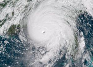 Impresionantes vídeos del huracán Michael