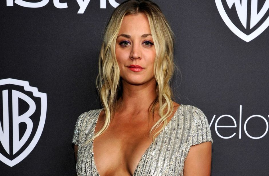 """Kaley Cuoco de """"The Big Bang Theory"""" entró a la moda de casarse y no vivir con su marido"""
