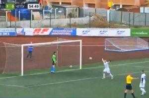 VIDEO: Giró 360 grados para convertir el mejor penalti de la historia