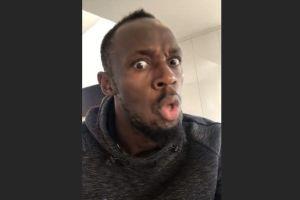 Usain Bolt se indigna por tener que pasar un control antidopaje en el fútbol