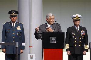 López Obrador reitera confianza en las Fuerzas Armadas