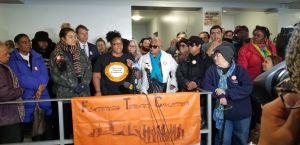 Más de 80 familias de Brooklyn piden ayuda para no quedarse otra vez desamparadas