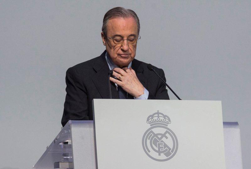 Florentino Pérez exhibe a los culpables del caos en el Real Madrid