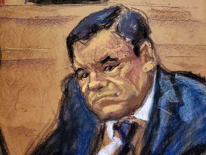 """La voz de """"El Chapo"""" se escuchó en la corte de Nueva York"""