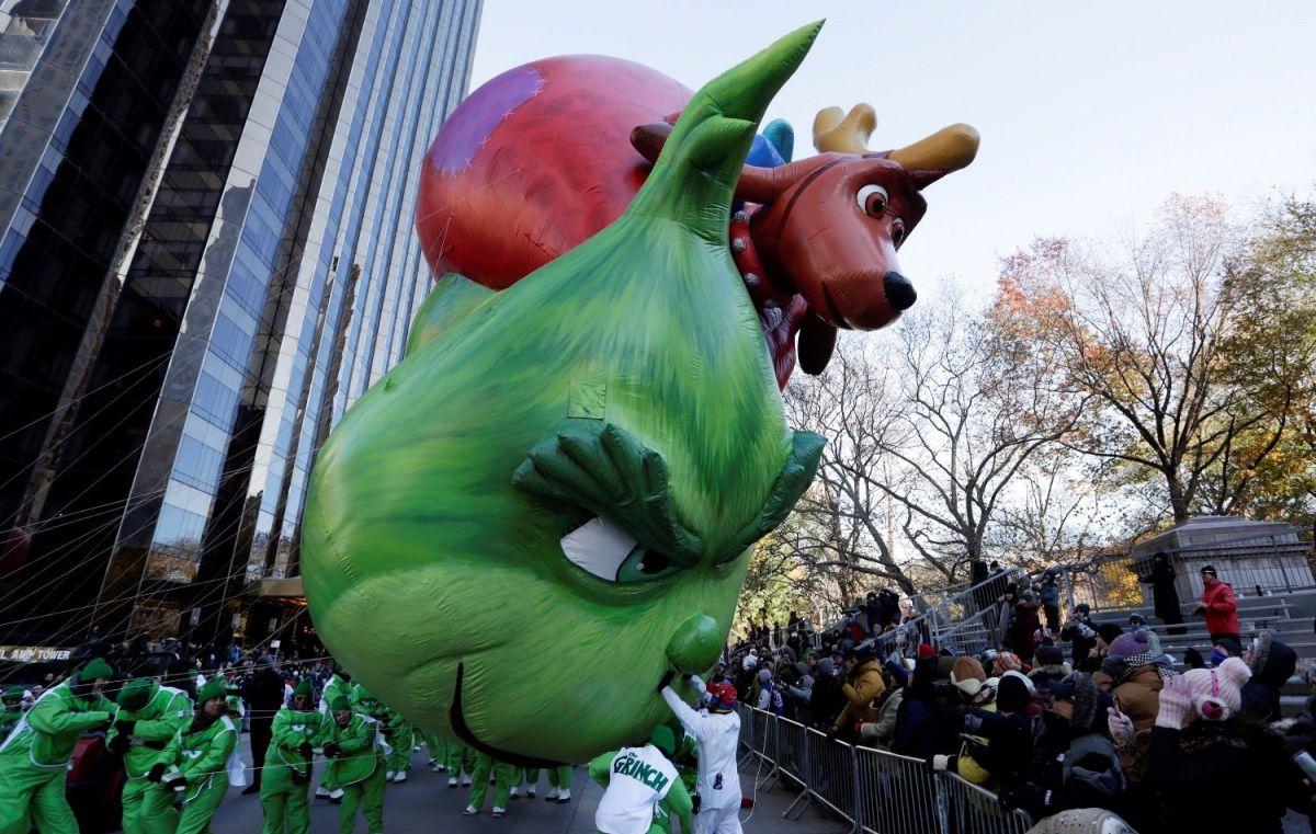 El frío protagonizó el Desfile de Thanksgiving en Nueva York