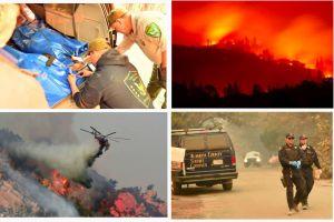 Aumentan a 42 los muertos en el gigantesco incendio del norte de California
