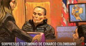 """Uno de los narcos colombianos más poderosos comparece en el juicio contra """"El Chapo"""""""