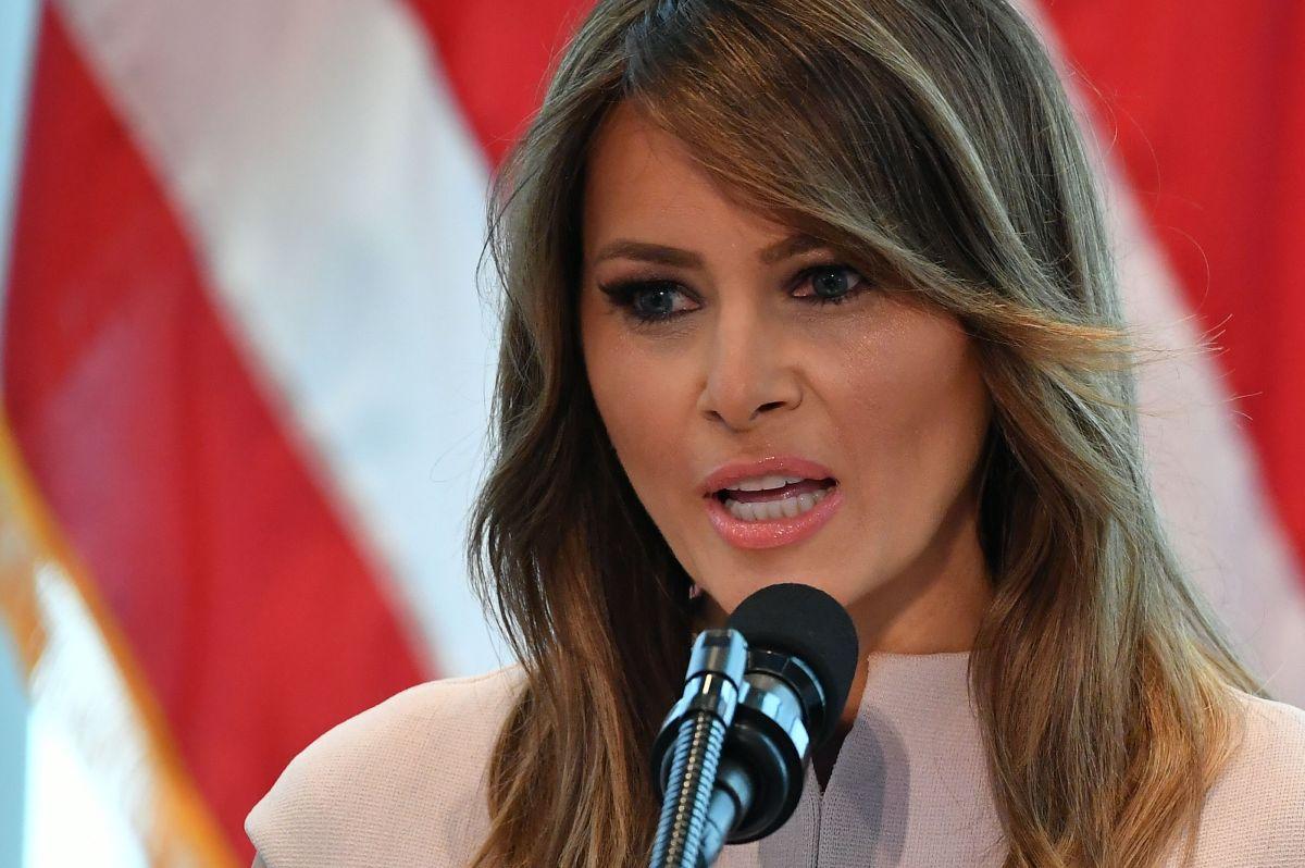 Las fotos que desataron burlas y críticas contra Melania Trump