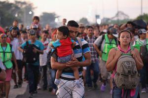 ¿Por qué la Caravana Migrante eligió la ruta más larga para cruzar México en camino a EEUU?