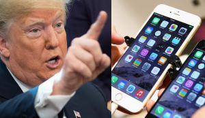 Trump estudia impuestos del 10% para iPhones y MacBooks provenientes de China