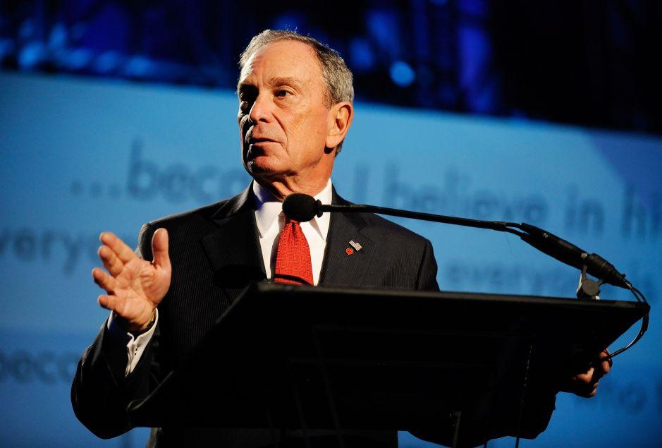La polémica por un logotipo de Bloomberg para campaña presidencial 2020