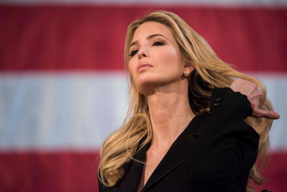 Ivanka Trump desata burlas en Twitter por su vestido de $1,650 dólares