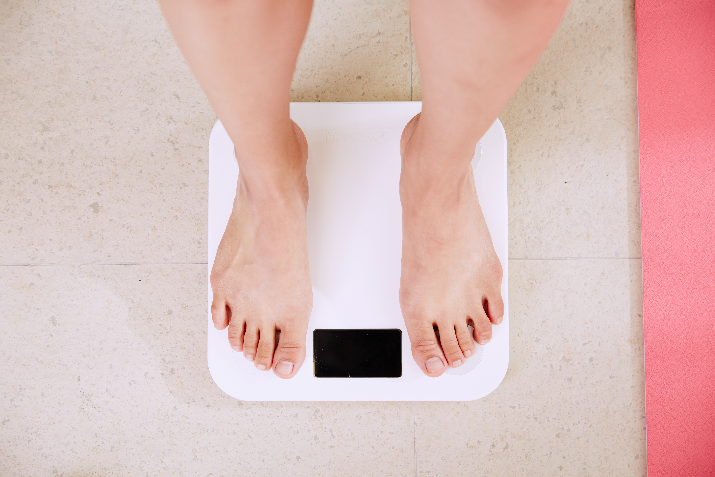 cuando estas con la regla pierdes peso