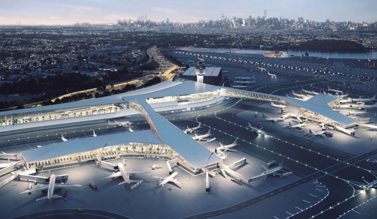 Despegan las renovaciones en LaGuardia con apertura de nueva Terminal B