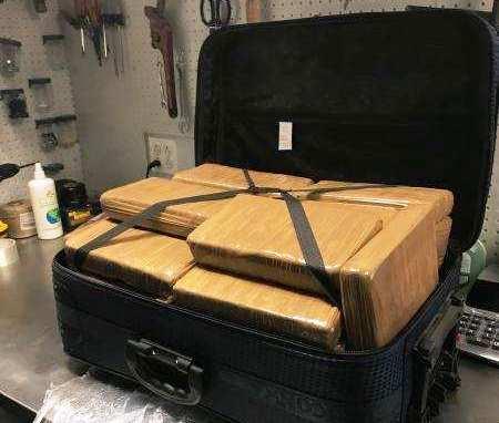 Llega de Ecuador a aeropuerto JFK maleta con cocaína valorada en $1.3 millón