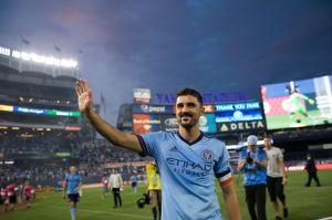 David Villa le dice adiós al NYCFC y le rinde homenaje al equipo de la MLS